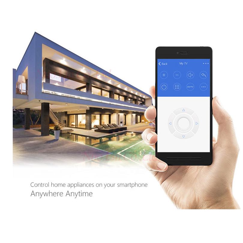 Broadlink RM Pro RM3 2018 Nouvelle Version RM Mini 3 Universel Intelligent IR + RF + Wifi À Distance Contrôleur Pour Ios Android Smart Home 23