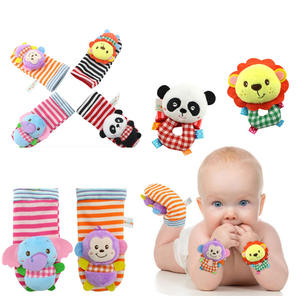 Gloves Mittens Rattle Socks Newborn-Products Toddler Baby Animal Stereo 0-3-Months