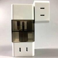 Elettrico universale Plug Travel Adapter Convertitore Presa di Alimentazione Presa Tutto in Un Uso In Tutto Il Mondo per US/UK/EU/AU