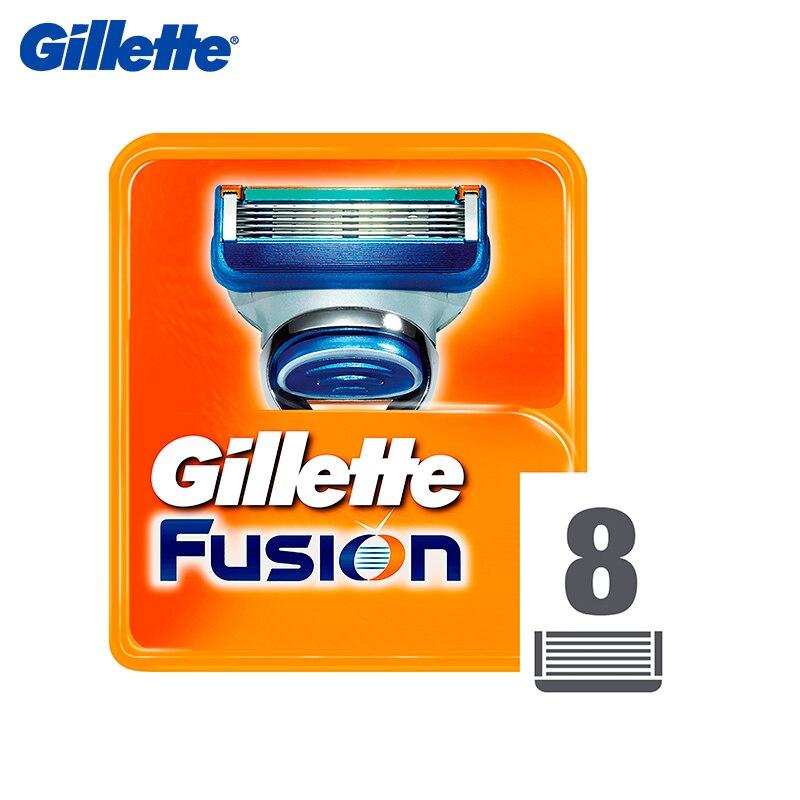 Replacement cartridges for razor Gillette Fusion, 8 pcs