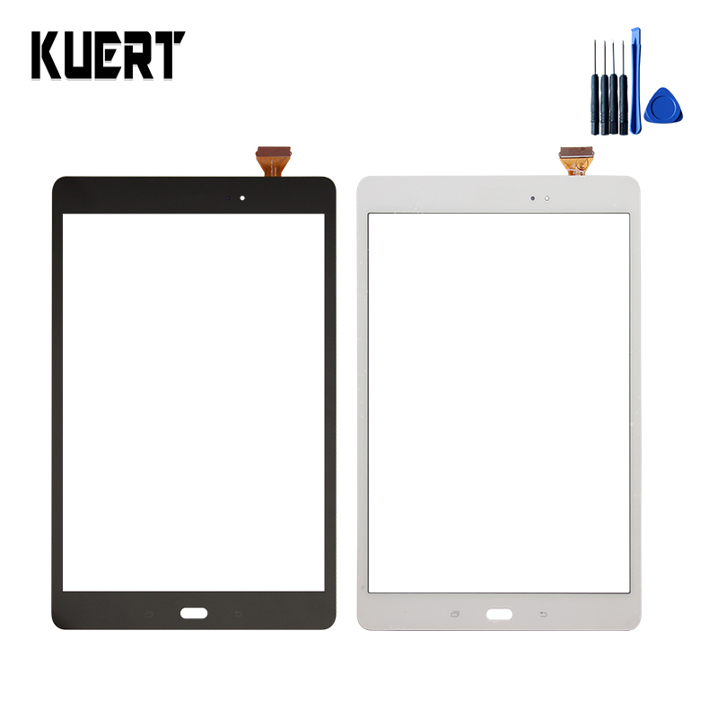 For Samsung Galaxy Tab A 9.7 SM-T550 T550 T551 T555 Touch Screen Panel Digitizer Glass <font><b>Touchscreen</b></font> Replacement Parts +Tools image