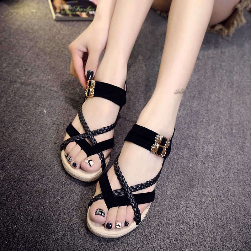 Free shipping New Xia Jiping bottom shoes clip toe sandals comfortable oxford shoes