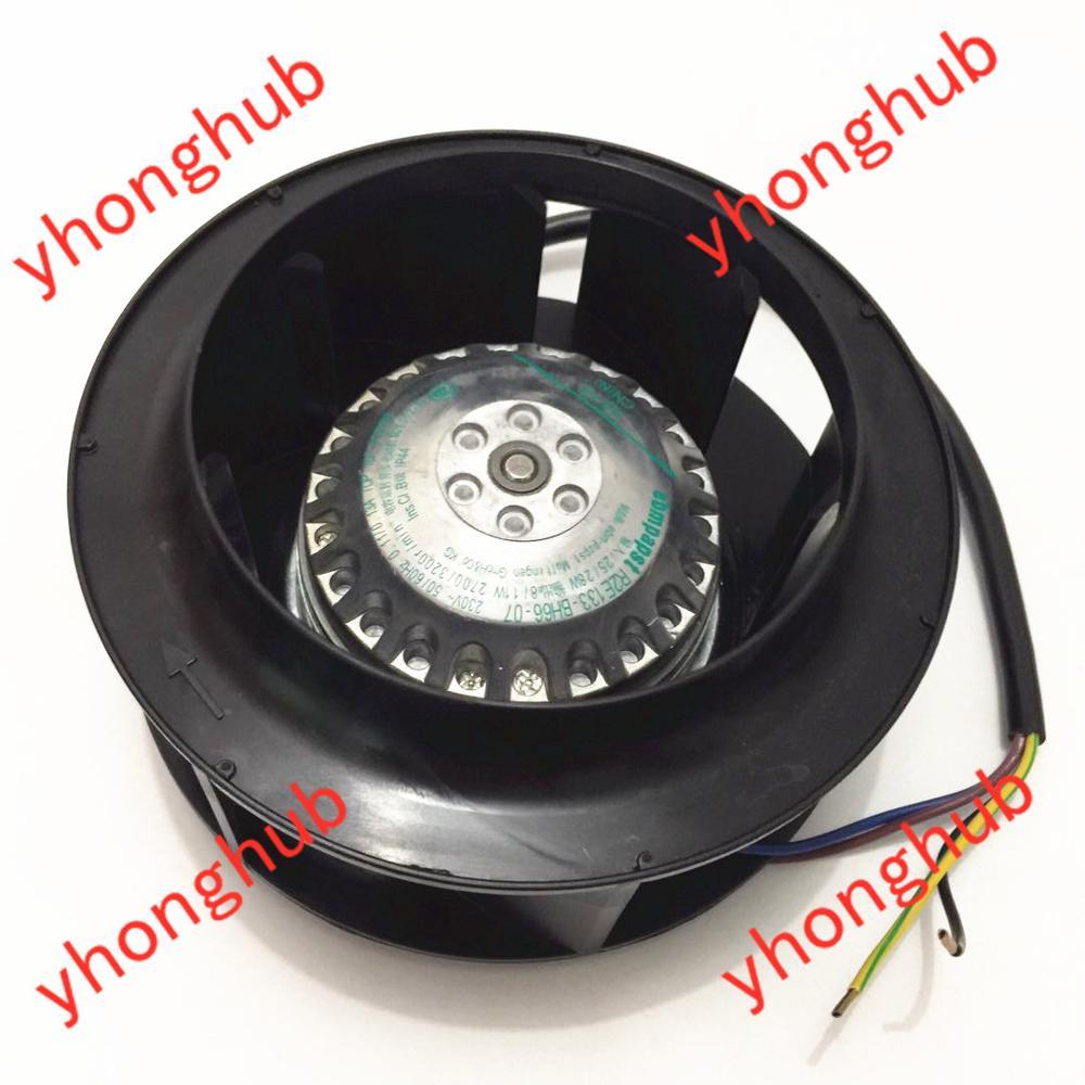 ebmpapst R2E133-BH66-14 07 AC 230V 0.11A 133X133mm 4-wire Server Round Fanebmpapst R2E133-BH66-14 07 AC 230V 0.11A 133X133mm 4-wire Server Round Fan