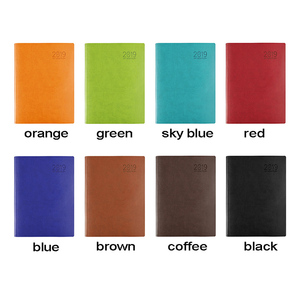Image 5 - RuiZe office note book thick paper Leather notebook a4 big daily memos planner agenda 2019 soft cover business notepad