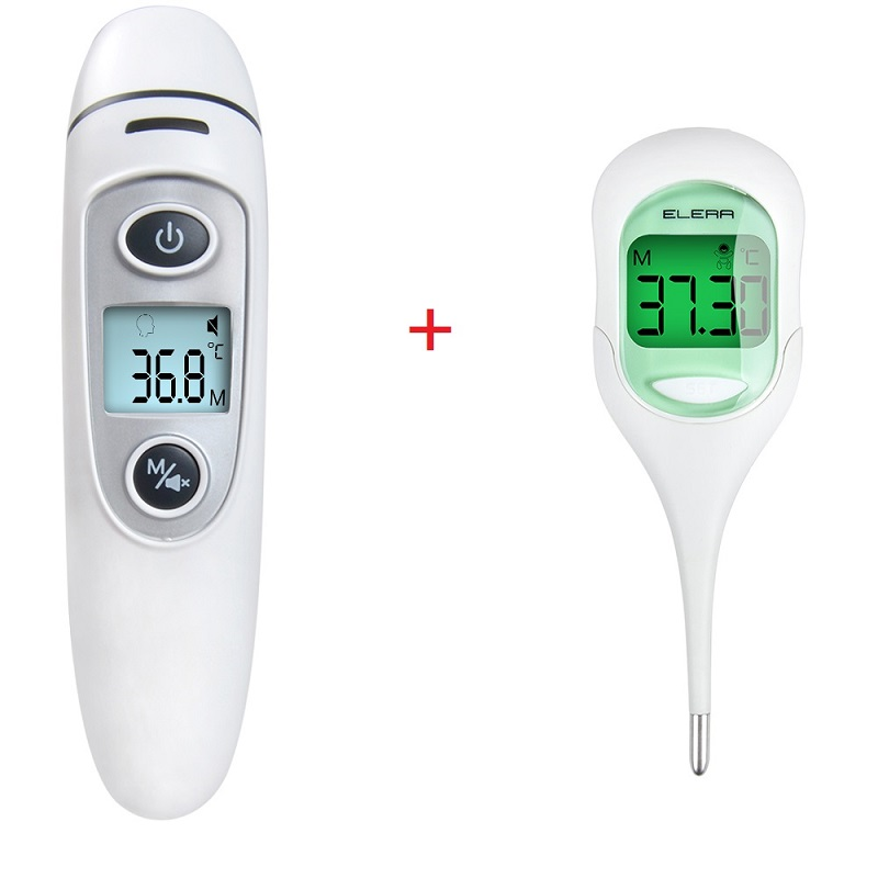 Baby Care Dedicated 3-in-1 Infrared Forehead And Ear Thermometer Baby Children Adults Body Thermometer Digital Medical