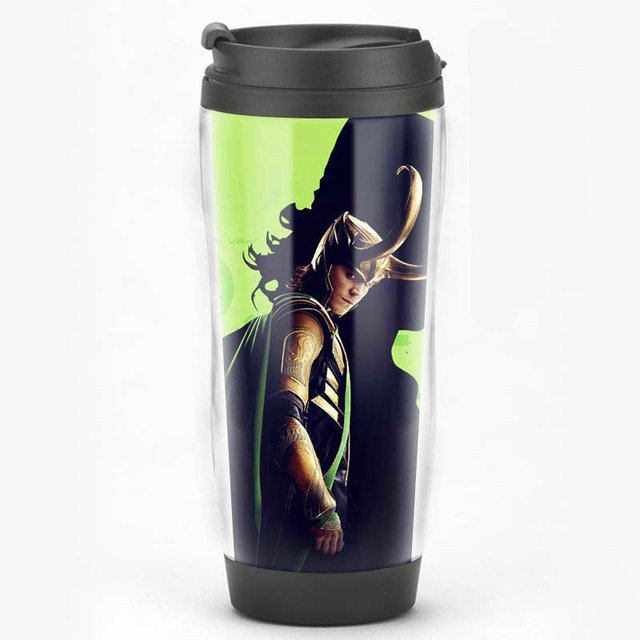 limited edition loki comics movie collectiable travel mug gift