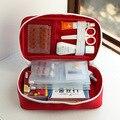 Vazio do Agregado Familiar Médio portátil Multi-Camada de First Aid Kit Bolsa Saco Carro Saco de Primeiros Socorros Ao Ar Livre Sobrevivência Medine Viagem Saco de resgate