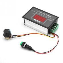 DC Motor Speed Controller Switch Controller With Display 12V 24V 36V 48V Speed Regulator DC 6V-60V PWM pwm dc 6v 12v 24v 28v 3a motor speed control switch controller