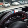 M Power M Carbon Fiber Sport Car Steering Wheel Cover Size M 38cm For BMW X1
