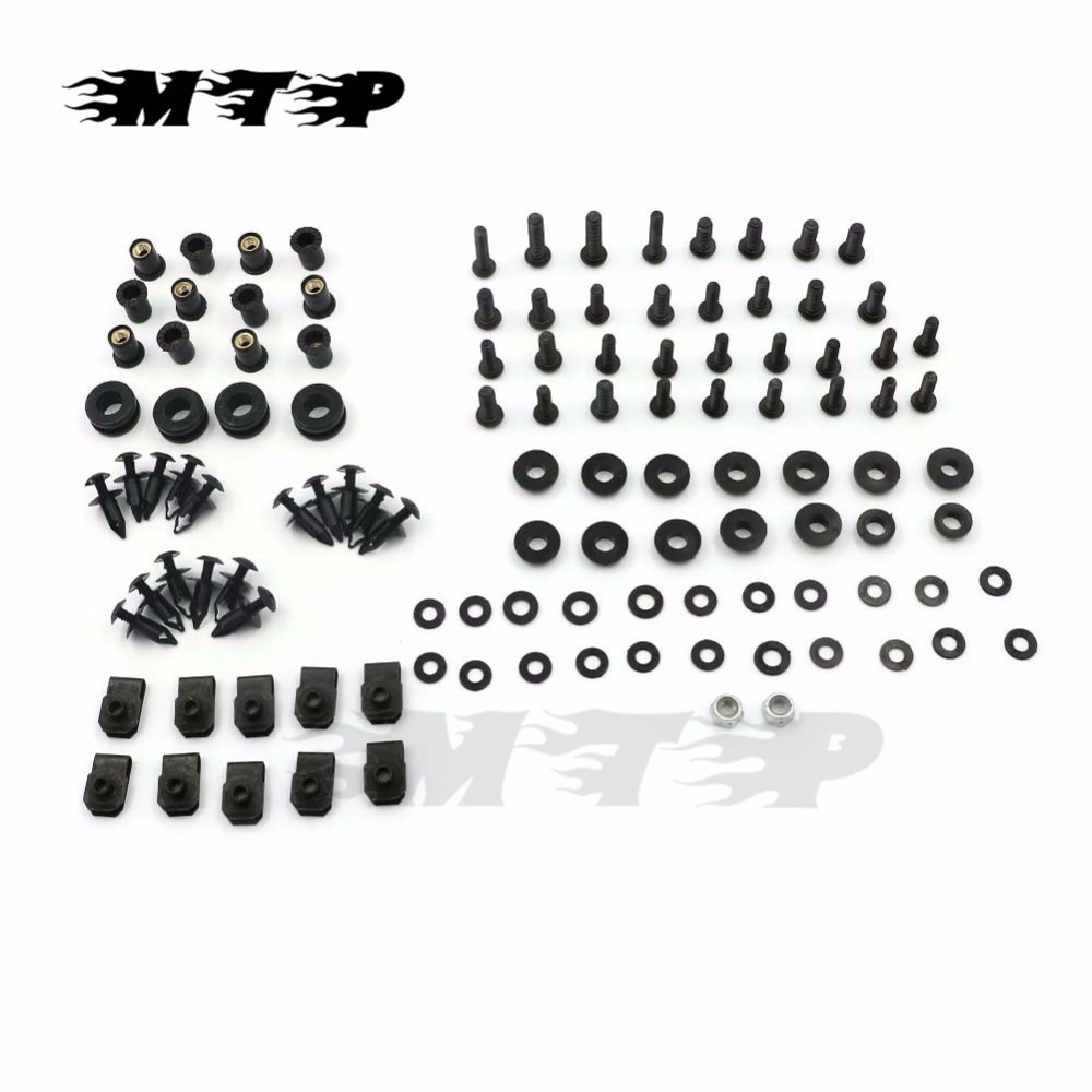 Motorcycle Complete Kit Fairing Bolts Screw For Honda CBR600 CBR 600 F4 1999 2000 99 00 Fairings Set Bolt Screws