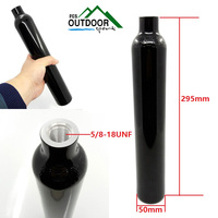 Paintball PCP Air Tank Cyclinder 3000psi/207bar 0.38L HPA High Compressed Air Bottle with Regualtor 5/8