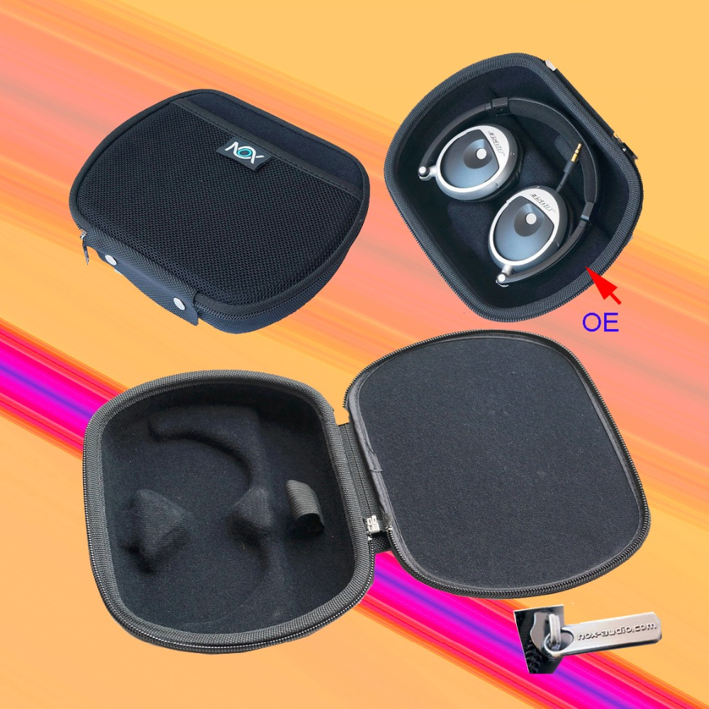V-MOTA NOX Headphone case carry boxs For BOSE OE(ON EAR)QC3 OE2 OE2i and Pioneer SE-MJ31 MDR-NC200D and ATH-Ft50is headphone