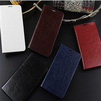 New Arrival Real Genuine Leather Cases For Samsung S4 S3 Case Flip Wallet With Card Holder