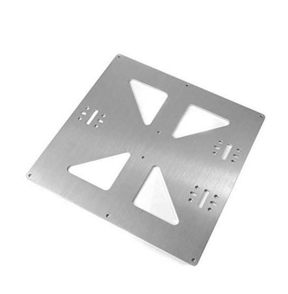 Funssor prusa i3 universal y carriage plate upgrade aluminum funssor prusa i3 universal y carriage plate upgrade aluminum anodized build bed mounting plate for diy solutioingenieria Images
