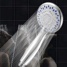 3 режима ABS пластиковая душевая головка для ванной комнаты большая панель круглая хромированная дождевая головка водосберегающая домашняя ванная комната водосберегающий аксессуар