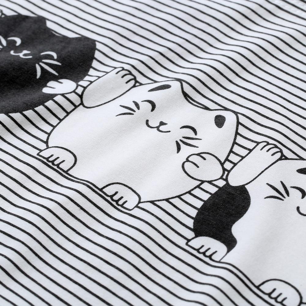 T-Shirt Frauen 2019 Frühling Kurzarm Oansatz Baumwolle Tier Gedruckt - Damenbekleidung - Foto 6