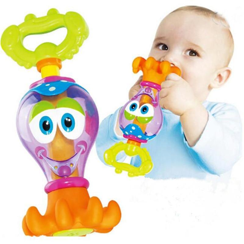 High Quality ABS Octopus Bebek Oyuncak Water Toys Water Gun Cartoon Octopus Pool Bathroo ...