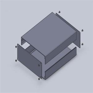 Image 5 - 1 قطعة الألومنيوم أداة القضية ل مشروع الإلكترونية مربع باللون الأسود مع المصقول 51*125*160 ملليمتر