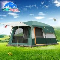 Августа наружного оборудования, 5 человек, 6 человек, 8 человек, две комнаты, одна спальня, семейный Кемпинг, двойной палатка