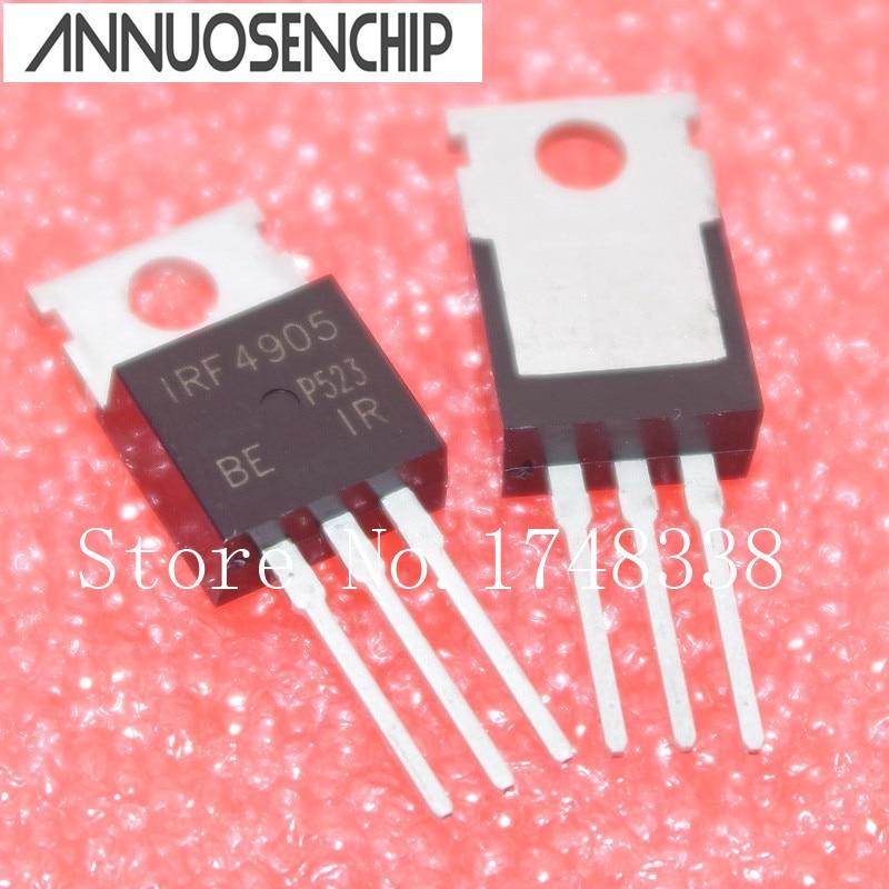 50PCS IRF4905 4905 IRF4905PBF NEW Transistor TO-220AB