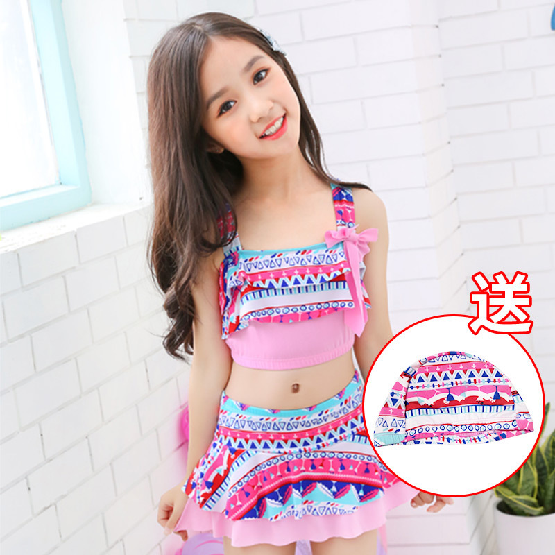 The new children's swimsuit, Princess Girl's swimsuit.(China)