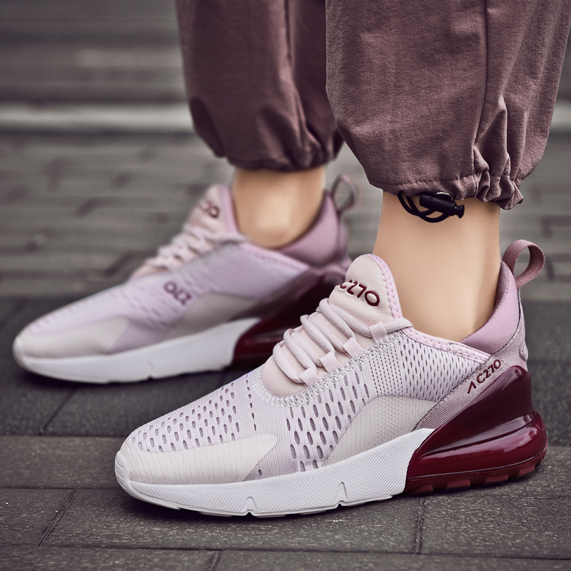 <font><b>Women</b></font> 2019 Sneakers Light Weight Running Shoes For <font><b>Women</b></font> <font><b>Air</b></font> Sole Breathable zapatos de mujer High Quality Couple Sport Shoes image