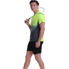 Sportswear Quick Dry Breathable Badminton Running Shirt , Women / Men Table Tennis Shirt Clothes Team Game Short Sleeve T Shirts