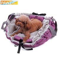 Domestic Delivery Pet Dog Purple Bag Carrier Multifunctional Warm Puppy Cushion Cat Bed Kitten Mat Pad Canvas Portable Shoulder