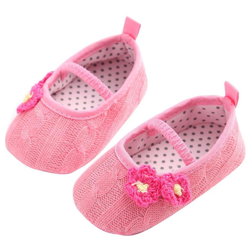 1 Paire Mignon Première Pas Bébé Fille Chaussure Tissu Confortable Cadeau Déco ZL4eqxAqIm