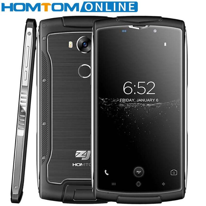 Homtom Zoji Z7 Wasserdichte Handy 5,0 Zoll Gorilla Glas 4 2 GB + 16 GB 8MP fingerprint ID 3000 mAh Staubdicht 4G Handy