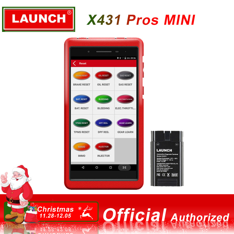 LANCEMENT X431 PROS MINI Voiture De Diagnostic scanner automotivo obd2 scanner Lancement outil de diagnostic lancement x431 pro obd2 Bluetooth WIFI
