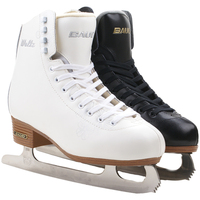 2018 Adult Thermal Warm Thicken Figure Skating Ice Skates Shoes With Ice Blade PVC Waterproof White Black