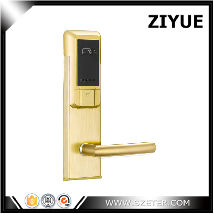Motel Hotel digital door lock Card keyless Hotel door locks ET103RF digital electric best rfid hotel electronic door lock for flat apartment