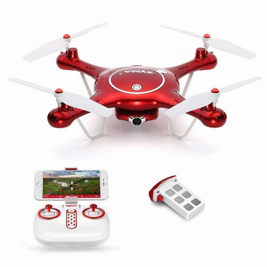 X5UW FPV RC Quadcopter WIFI Camera HD Mobile Control,Path Flight,Height Hold,One Key Land 2.4G 6-Axis RC Helicopter VS X5UC jjr c jjrc h43wh h43 selfie elfie wifi fpv with hd camera altitude hold headless mode foldable arm rc quadcopter drone h37 mini