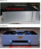 Усилитель шасси qf6 430 алюминиевый корпус 430*120*411 мм amp случай DIY box