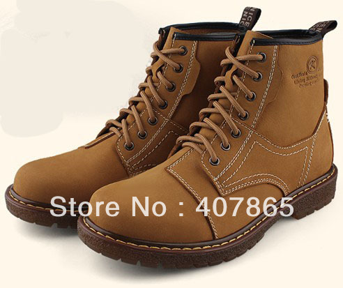 Wholesale free shipping best selling Hush Puppies men's CASUAL SHOES  Martin boots Size:38-44