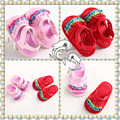 Baby Summer Anti-slip Shoes Mary Jane Newborn Baby Girl Princess Shoes Infant Toddler Prewalker Butterfly-not Bebe Footwear