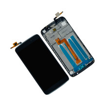 Touch Screen Digitizer LCD Display For Alcatel One Touch Idol 3 5.5 6045O 6045 6045L TouchScreen With Frame Assembly Phone Parts(China)