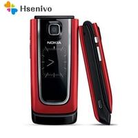 Unlocked Original Nokia 6555 Flip Cell Phone 3G mobile phone Arabic Hebrew Russian keyborad One Year Warranty Free shipping
