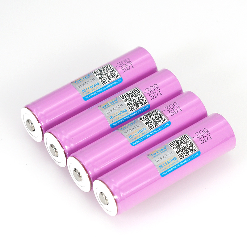 Image 4 - VariCore 3.7V 18650 INR18650 30Q 3000mAh li ion Rechargeable battery For Flashlight Batteries + Pointed-in Replacement Batteries from Consumer Electronics