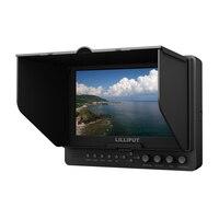 Lilliput 665/S 7 TFT светодиодный HD камера поле Топ HDMI 3G SDI монитор, пиковый YPbPr HDMI вход стандартного интерфейса данных выход на камеру полевой монито