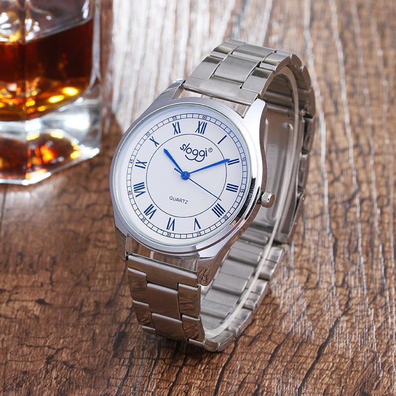 New arrive Roman numerals quartz watch men fashion alloy steel watch women watch hot sale men business watch relogio feminino цена и фото