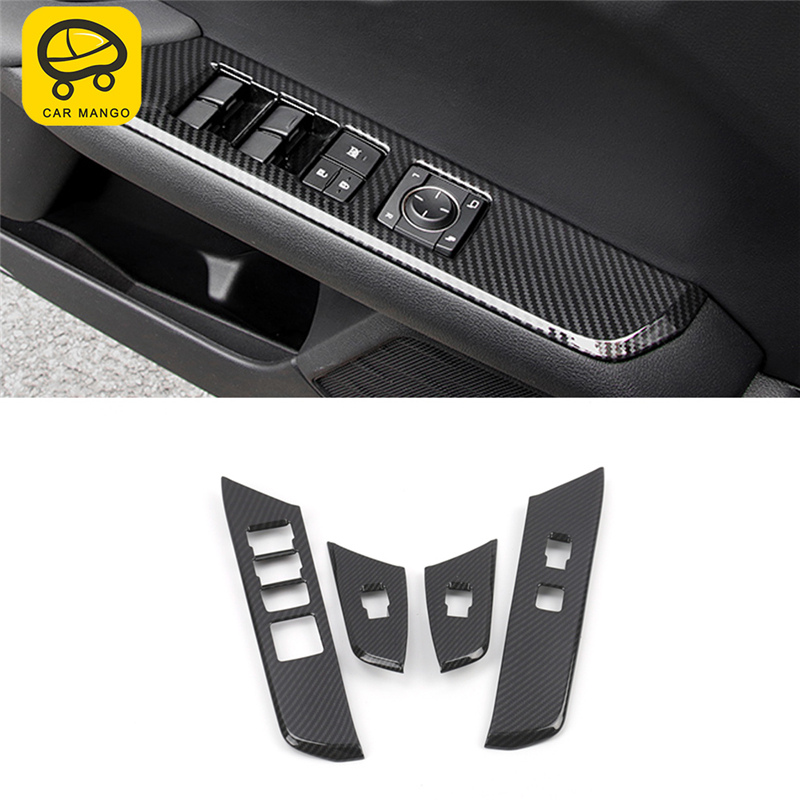 Voiture MANGO voiture style porte porte lève-vitre bouton interrupteur panneau couverture garniture cadre autocollant intérieur accessoires pour Lexus UX 2019