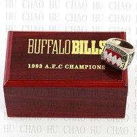Buffalo Bills Championship Ring 1993 Replica AFC American Football Rings Fashion Jewelry Men Fan Best Gift