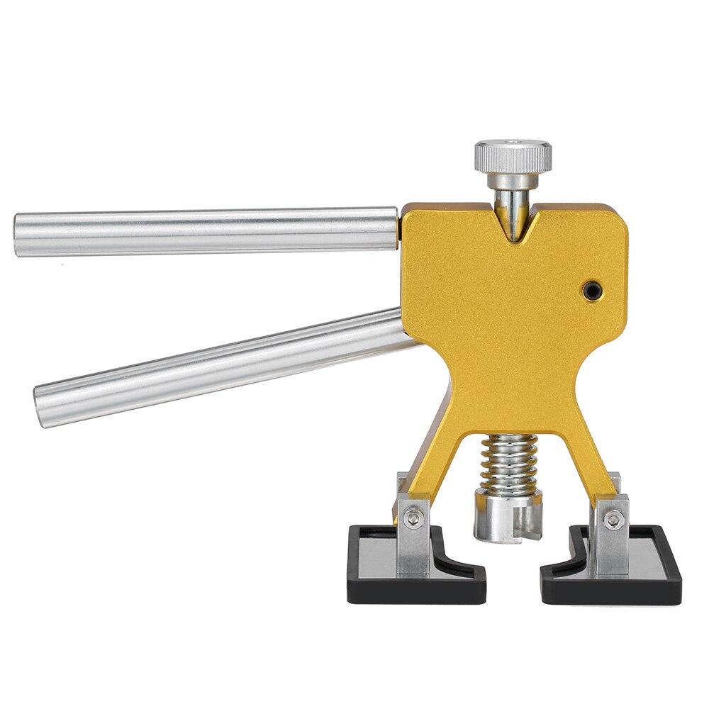 Купить с кэшбэком car repair tool hand tools Practical hardware Car Body Paintless Dent Lifter Repair dent puller + 18 Tabs Hail Removal Tool set