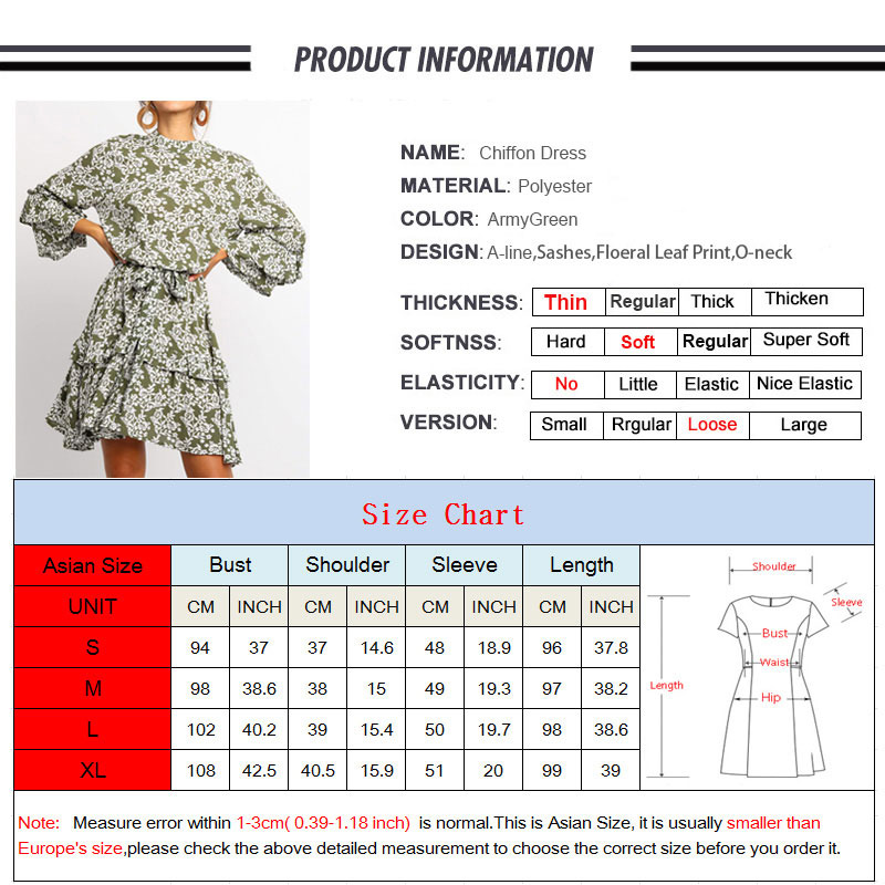 Long Sleeve Floral Dress For Women Chiffon Ladies Dresses A line Fashion Vintage Woman Party Spring Summer Casual Office Clothes in Dresses from Women 39 s Clothing