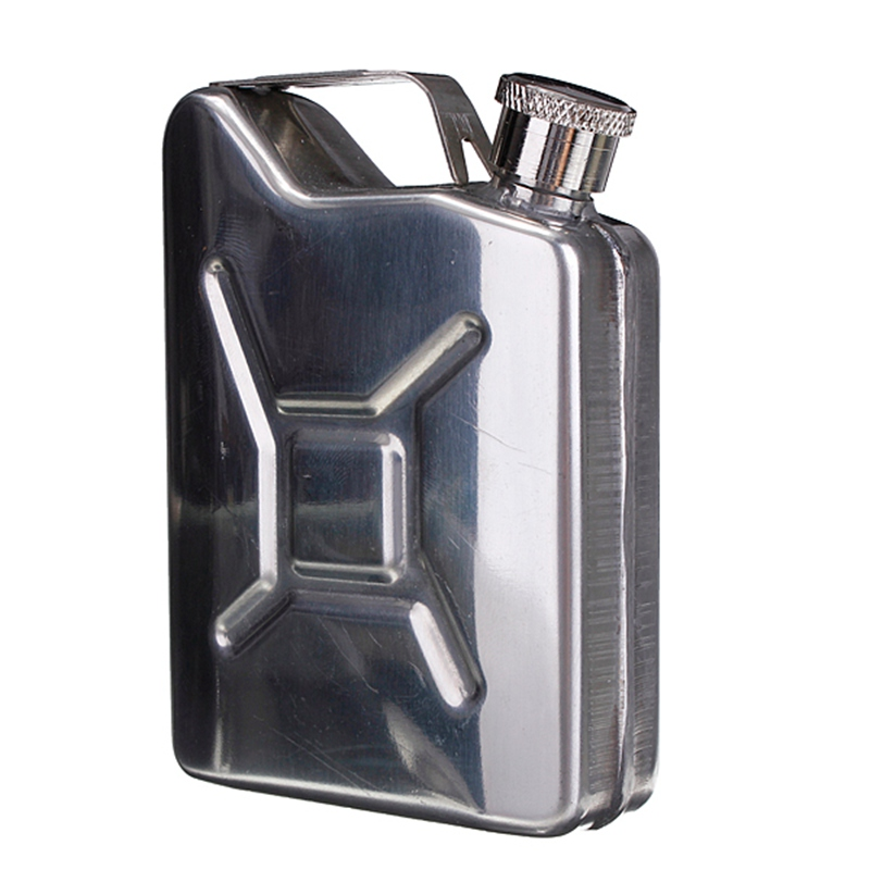 1Pc Whisky Bottle Alcohol Cap 5oz Stainless Steel Hip Flask Liquor Funnel Wedding Party Bar Wine