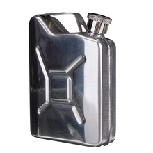 1Pc Whisky Bottle Alcohol Cap 5oz Stainless Steel  Hip Flask Liquor Funnel Wedding Party Bar Wine Bottle Hip Flask Liquor