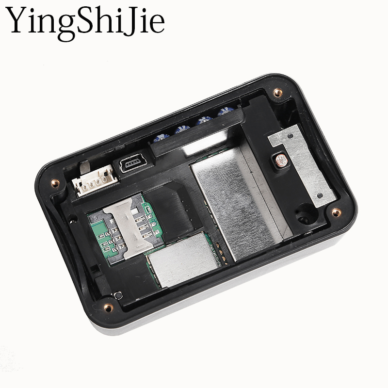 YingShiJie  Anti-Probe Strong Magnet GSM GPRS GPS Tracker For Car Automobile Vehicle With Peel-Off Alarm GEO-Fence larger capacity 20000mah battery gps tracker for car vehicle container strong magnet car gps tracker automobile lk209c