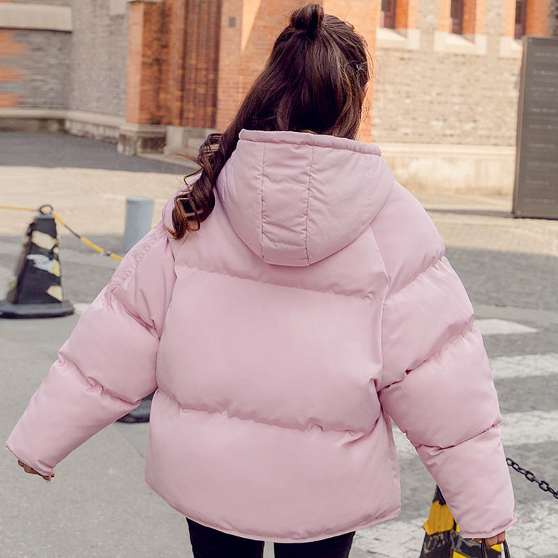 Style Le Parka Courte Bf Bas Manteau D'hiver Femmes Q903 Vers pink Chaud Veste Lâche Épaissir Coton Survêtement Yellow xwCqXv4